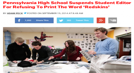censorship in high school Four vermont high school journalists have gotten a lesson of a lifetime when they stood up to censorship in their school newspaper and won based on a.
